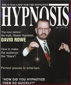 Hypnotist David Rowe, Warren — Always a clean one-hour, fun-filled, laugh-a-minute comedy hypnosis show with lots of audience participation.