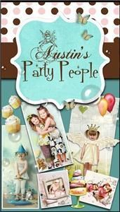 Austin Party People Theme Birthday Parties