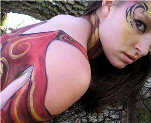 SPARK Body Painting