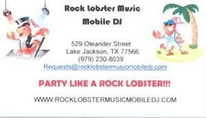 Rock Lobster Music Mobile DJ