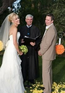 Joyful Weddings & Marriages - Desert Area, Palm Springs — Canadian couple at the upscale Parker Palm Springs.
