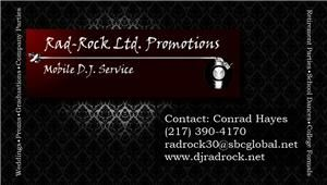 Rad-Rock Ltd. Promotions, Urbana