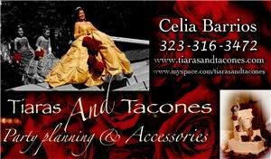 Tiaras and Tacones Events, Reseda