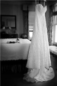 Ayla Photography and Design, Mississauga — Black and white wedding dress Harry Truman's White House Key West Florida