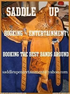 SADDLE UP BOOKING & ENTERTAINMENT