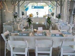 6th Sense Events, LLC, Charlotte — Table setting for wedding