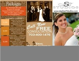 SHstudios, Woodbridge — SHstudios wedding packages