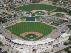 Hohokam Stadium, Mesa Convention Center, Mesa