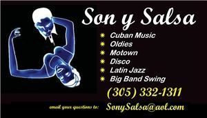 SonySalsa - Great DJ In South Florida