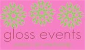 Gloss Events - Event and Wedding Planning