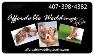 Affordable Weddings By Elite