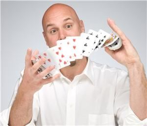 Atlanta Magician, Atlanta — Amazing comedy magician, Arthur Atsma, demonstrating incredible skill!