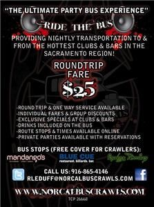 NORCAL BUS CRAWLS LLC