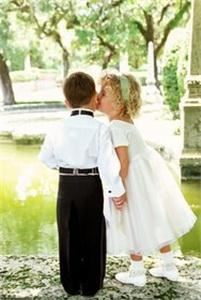 Baby Discovery Flower Girl Dresses and Boy Tuxedos