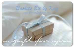 Baskets Etc by Kay - Indianapolis, Indianapolis — We offer specialty gift and gift baskets for special occasions across the United States.  If you cannot find that perfect gift, let the recipient choose... buy a gift card today!