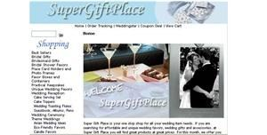 Super Gift Place, Fremont — SuperGiftPlace.com is an online wedding shop offering an amazing range of wedding favors, gifts, accessories and decorations. Included are many exclusive designs created specifically with today's Brides in mind. Combined with perennial favorites, our collection is unmatched in selection, quality and value.