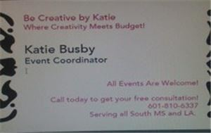 Be Creative by Katie