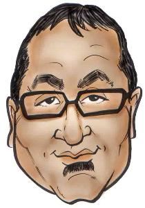 Cliff Caricature