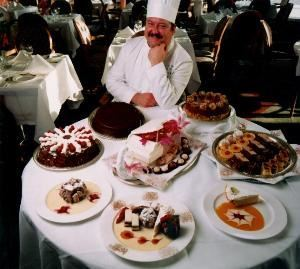 Aurora, Richmond — Our owner's career spans over 40 years in the luxury hotel envirnment. He started scrubbing pots and pans age 13 on Sunday mornings starting at 6a.m. He rose through the ranks to eventually become the Executive Pastry Chef at World Headquarters in Buckhead Atlanta for The Ritz Carlton. As well, he was at The Hay Adams accross from the White House as Executive Pastry Chef. Afterwhich Chef Davison was transferred to open the 5 star Moscow Marriott Grand Hotel. After the hotel's opening, he remained in Russia and took gold in the Eastern European Culanary Olympics, grand buffet catagory. That brought him to the attention of The American Embassy. Out of there he started a catering company which became so successful that he later accepted the position of Food and Beverage director at the embassy. Let Chef Davison now turn his experience into your dream event. He can show you the world-class product and service that he has done for world dignitaries over his career.