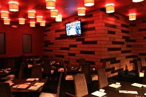 Party Room, Sushi Rock - Columbus, Columbus — Seats up to 45 guests or 60 for cocktail reception, two flat screen tv's, music volume controls, catering menu & on-site catering manager.