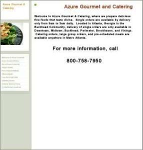 Azure Gourmet and Catering