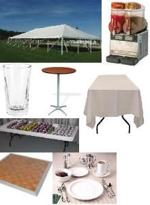 Tri-City Party Rentals/Event Service