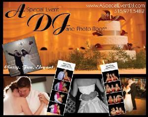 A Special Event DJ, Indianola — We offer DJ and Photo Booth Packages for Wedding Receptions in Iowa.