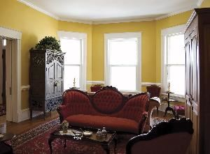 Parlor, Pamlico House Bed & Breakfast, Washington