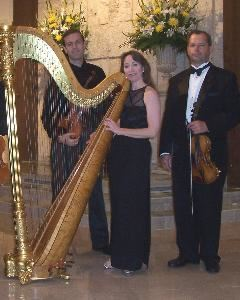 Wedding Harp Music, Daytona Beach  Apex String Trio