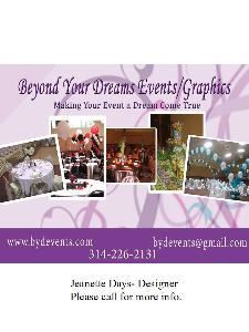 Beyond Your Dreams Events/Graphics