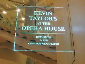Kevin Taylor's At The Opera House