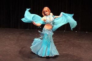 Alexia Oriental Belly Dancer