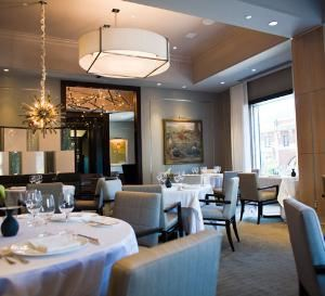 Corner Room, L'Espalier, Boston