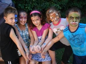 Tampa Bay Productions - Professional Face painting & glitter tattoos