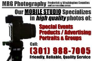 MRG Photography - Hagerstown Event Photographer, Smithsburg — MRG Photography's portable portrait studio is perfect for your special event. 