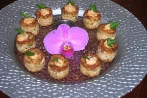 VIP Chef Services & Catering, Weston — Crabcakes with Chipotle Remoulade