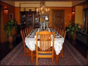 Formal Dining Room, The Bacon Mansion, Seattle — Formal Dining Room