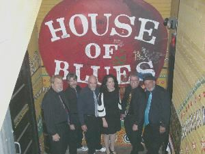 The Coppertones...The South's Premier LIVE Party Band  sm, Myrtle Beach — The 'Tones at a recent show.