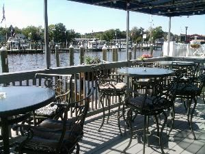 Seahorse Cafe & Wine Bar, St. Michaels Harbour Inn, Marina & Spa, Saint Michaels