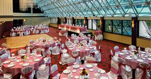 Trillion Wedding Package, Hilton Hotel Bellevue, Bellevue — Wedding Reception