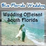 Blue Florida Wedding