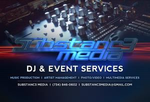 Substanc3 Media- Complete DJ & Event Services