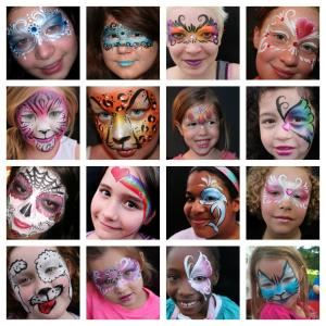 A Face Painting Mom, Columbus — We are the very best entertainers in the central ohio area!  Let us paint your guests faces, twist terrific balloons, do great henna, or adorn your friends and family with glitter or airbrushed temporary tattoos.  We have princesses who can come to your party to cut the cake, play games, or take pictures!  We can provide the picture and print it on the spot for your guests to take home as a party favor.  Bubble station and hair feather extentions too!  We can help you with any party or event, adults, teens, and tweens love us too!  Book your party or event today!