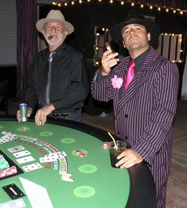 Casino Party For Up To 120 People, Vegas 2 U, Avondale — Blackjack Table