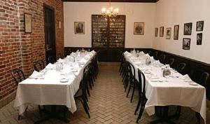 Begue Room, Tujague's Restaurant, New Orleans — Begue Room