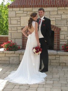 "OUTDOOR FIREPLACE WEDDING  PACKAGE, Timber Creek Bed & Breakfast, Paxton — ""Small Intimate Weddings on the Stone Patio"""