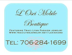 "TRACI LYNN FASHION JEWELRY BY L'OSEI MOBILE BOUTIQUE, Alexandria — L'Osei Mobile Boutique is an exclusive distributor of Traci Lynn Fashion Jewelry seen in Essence, where Dr. Traci Lynn was featured for innovative business success.  At Traci Lynn Fashion Jewelry, ""people represent our brand because they love our style.""