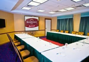 Meeting Room, Residence Inn Auburn, Auburn — Our dynamic meeting space is the perfect setting for your small to mid-size function.