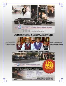 ATLANTA'S COMFORT LIMO & SHUTTLE SERVICES