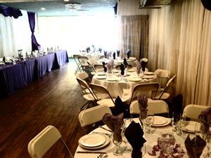 RECEPTION HALL DECORATING, Exotic Caterers, Brooklyn — table set up for wedding reception